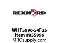 REXNORD WHT5996-54F26 WHT5996-54 F2 T6P WHT5996 54 INCH WIDE MATTOP CHAIN W