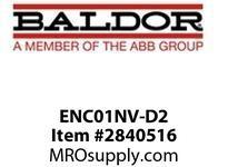 BALDOR ENC01NV-D2 HS35R DPARRPMAC1024254-2565-26VTENV :
