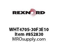 REXNORD WHT4705-30F3E10 WHT4705-30 F3 T10P WHT4705 30 INCH WIDE MATTOP CHAIN W