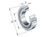 FAG 30221A METRIC TAPERED ROLLER BEARINGS