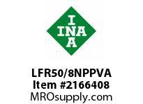 INA LFR50/8NPPVA Yoke type track roller