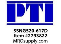 PTI SSNG520-617D 2BOLT METRIC PLUMMER BLK HSG B1- BEARING HOUSING METRIC