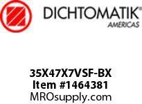 Dichtomatik 35X47X7VSF-BX DISCONTINUED