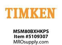TIMKEN MSM80BXHKPS Split CRB Housed Unit Assembly