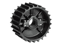 614-102-1 NS821-23T Thermoplastic Split Sprocket With Keyway And Setscrew Kit TEETH: 23 BORE: 1 Inch