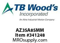 TBWOODS AZ35A85MM AZ35-AX85MM FF COUP HUB