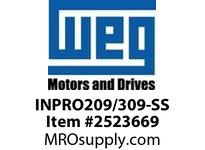 WEG INPRO209/309-SS STAINLESS STEEL INPRO SEAL Motores