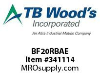TBWOODS BF20RBAE BF20 EXT HUB RB CL A