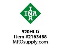 INA 920HLG Thrust ball bearing