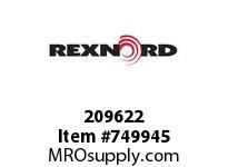 REXNORD 209622 591714 425.S71-8.CPLG STR SD
