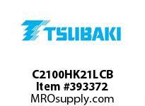 US Tsubaki C2100HK21LCB C2100H COT 1L/K-2 10 FT