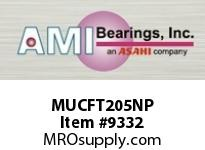 AMI MUCFT205NP 25MM STAINLESS SET SCREW NICKEL 2-B BRG NICKEL PLATE HSG