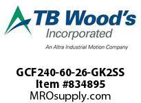 TBWOODS GCF240-60-26-GK2SS CPL GCF240-60-26-GK2-SS