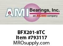 AMI BFX201-8TC 1/2 NARROW SET SCREW TEFLON 2-BOLT ROW BALL BEARING