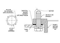 BHN-56 GASKET VERTICAL HV