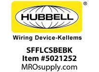 HBL_WDK SFFLCSBEBK FIBER SNAP-FITFLSHLC DUPLXBEZIRCBK