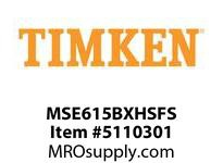 TIMKEN MSE615BXHSFS Split CRB Housed Unit Assembly