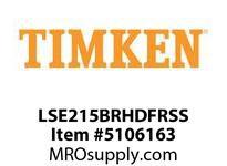 TIMKEN LSE215BRHDFRSS Split CRB Housed Unit Assembly