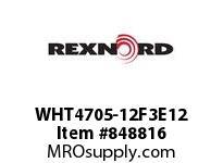 REXNORD WHT4705-12F3E12 WHT4705-12 F3 T12P N2 WHT4705 12 INCH WIDE MATTOP CHAIN W
