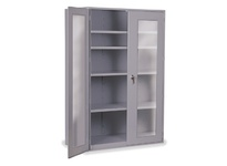 1531202 Model: CAB36-4CLR (with 4 shelves/no bins) Color: Grey