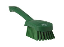 REMCO 41902 Vikan Scrub Brush Short Handle Brush- Soft- Green (re