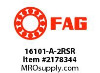 FAG 16101-A-2RSR RADIAL DEEP GROOVE BALL BEARINGS