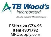 TBWOODS FSH92-28-GZ6-SS CPL FSH92-28 8.494KL GZ6 W/SS
