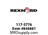 REXNORD 117-5776 N1700-10T 25MM KW 2SS N1700-10T SOLID SPROCKET WITH 25MM