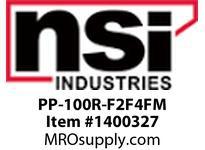 NSI PP-100R-F2F4FM PP-100R POOL PANEL WITH ONE PFP1102-M AND ONE P1104FM-M INSTALLED