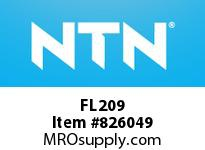 NTN FL209 Bearing Units - Cast Housing