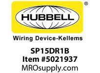 HBL_WDK SP15DR1B 1 SEAT PWR BOX DECO 10FT PLUG BRACKET