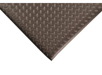 NoTrax 419S0312BL 419 Diamond Sof-Tred w/ Dyna-Shield 3X12 Black Diamond Sof-Tred is a durable anti-fatigue mat with a non-directional diamond deck plate top surface that allows for sure footing. The NoTrax exclusive Dyna-Shield PVC sponge