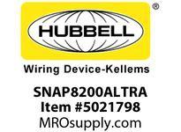 HBL_WDK SNAP8200ALTRA S-CONNECT DUP HG 15A/125V TR AL