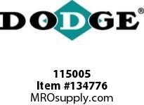 DODGE 115005 5C27.0-3535