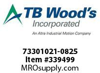 TBWOODS 73301021-0825 73301021-0825 13S M-SF CPLG