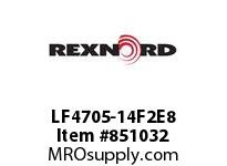 REXNORD LF4705-14F2E8 LF4705-14 F2 T8P N2 LF4705 14 INCH WIDE MATTOP CHAIN WI