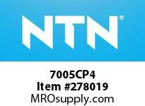 NTN 7005CP4 PRECISION BALL BRG