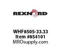 REXNORD WHF8505-33.33 WHF8505-33.33 WHF8505 33.33 INCH WIDE RUBBERTOP M