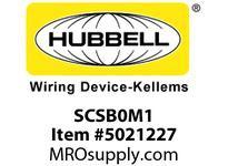 HBL_WDK SCSB0M1 SPIDER II BOX 60A 3PH 120/208V GRN