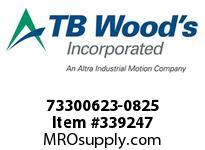 TBWOODS 73300623-0825 73300623-0825 8S T-SF CPLG