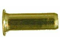 MRO 22010B 1/4 BRASS INSERT .172OD .53LGTH (Package of 10)