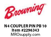 Morse 172598 N4 COUPLER PIN PB 10 NYL DELRIN COUPLING CHAIN-500