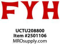 FYH UCTU208800 40 MM SS TAKE-UP FRAME & UNIT