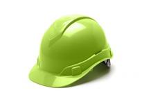 Pyramex HP44131 Hi Vis Green-Ridgeline Cap Style 4 Pt Ratchet Suspension