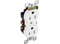 Orbit R15-SW 15A DUPLEX RECEPTACLE S/G WHITE