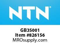 NTN GB35001 Medium Size Ball Brg(Standard)