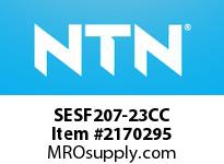 NTN SESF207-23CC Stainless-Square flanged unit