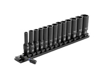 IRWIN 1876229 IMPACT DEEP WELL BOLT GRIP 14PC RAIL SET