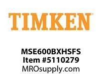 TIMKEN MSE600BXHSFS Split CRB Housed Unit Assembly