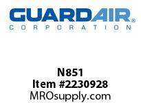 "Nordair N851 Shut-Off Valve 3/8"" MNPT For N081M"